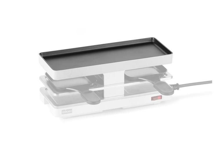 Grillplatte Twinboard, weiss