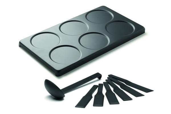 Mini crêpes plate for for8/for8 Crispy/ PIZZAmax8