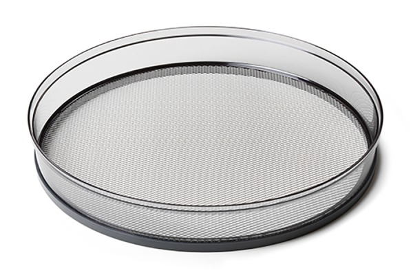 Drying tray with steel mesh