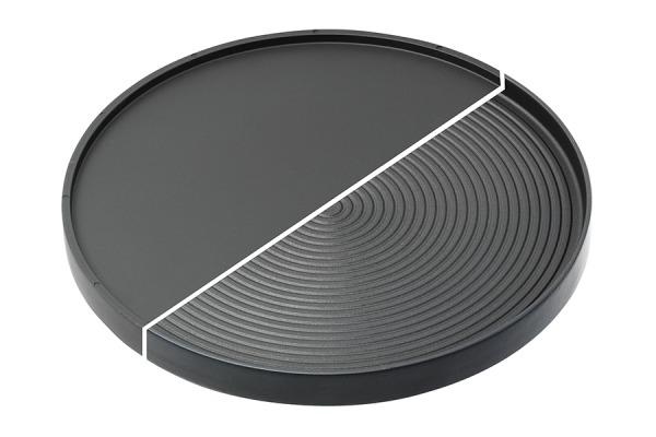 Grill- und Crêpeplatte für Marroniofen
