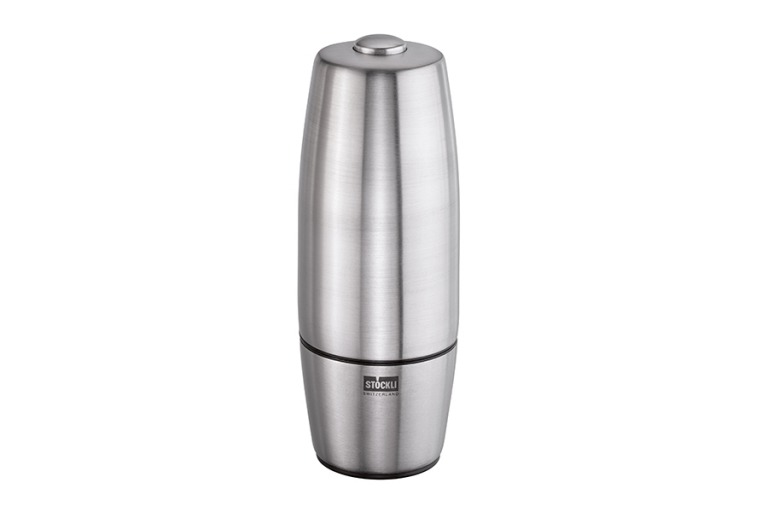 Pepper and salt mill, electric without batteries