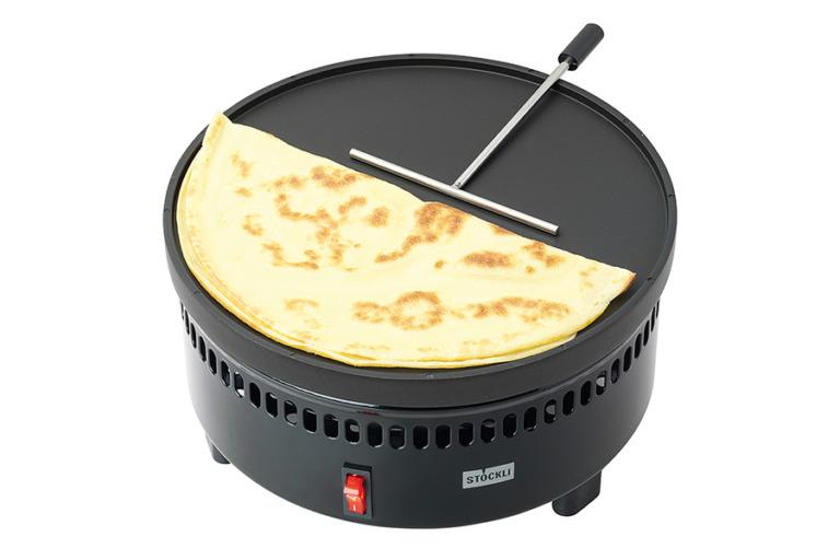 Marroniofen mit Grill- und Crêpeplatte