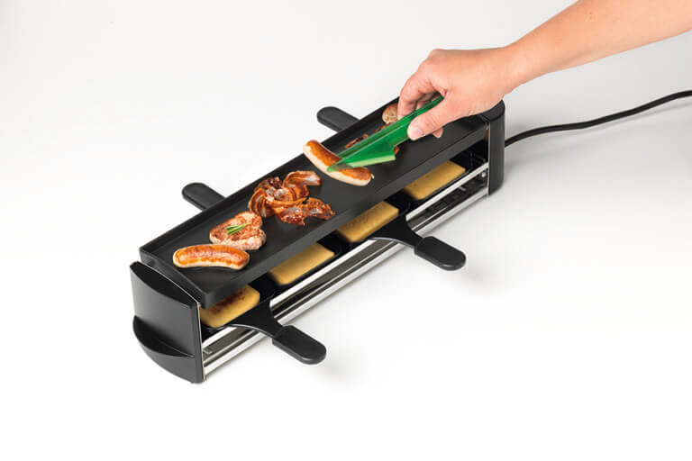 Raclette and grilling tongs SwissTwist, 4 colours