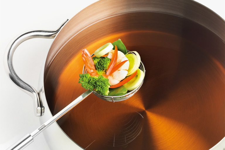 Sieve for fish fondue, 2 pcs.