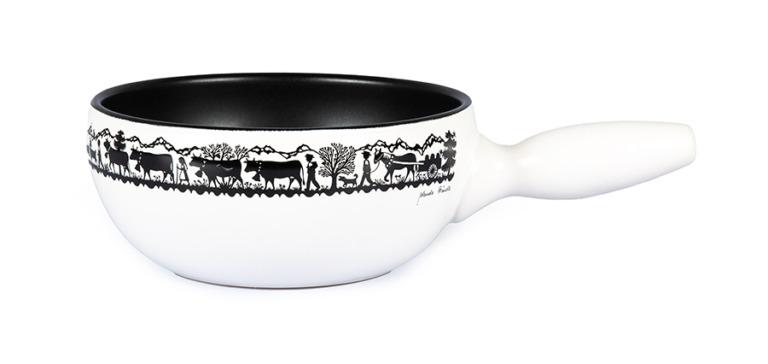 Caquelon à fondue Tradition 'l'alpage', induction