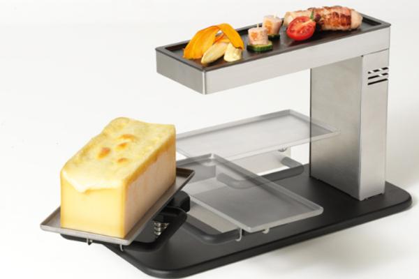 Für die traditionelle Raclette-Zubereitung